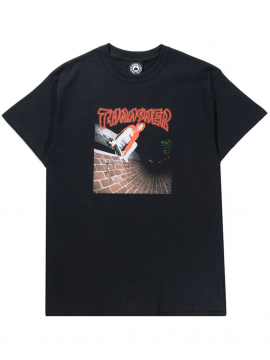Thrasher China Banks T-Shirt Noir