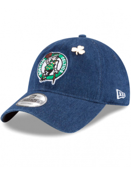 Casquette New Era 9Twenty Denim Boston Celtics 2018 Draft