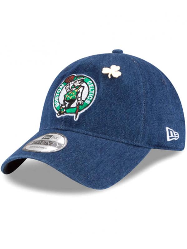 plus de photos Nouveaux produits regarder New Era 9Twenty Denim Boston Celtics 2018 Draft