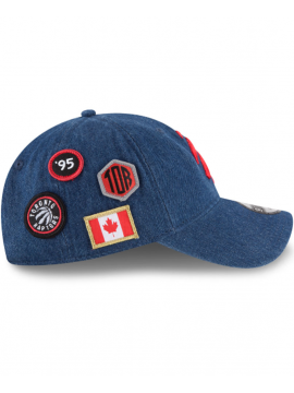 Casquette New Era 9Twenty Denim Toronto Raptors 2018 Draft