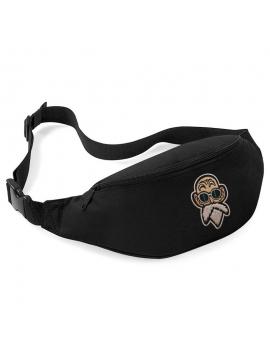 RXL Paris Kamé Sennin Patch Belt Bag Black