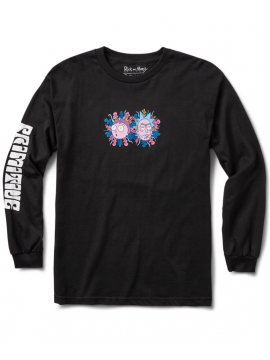 Primitive T-Shirt Manches Longues Dirty P R&M Noir