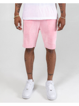 Pink Dolphin Cool Out Velour Short Pink