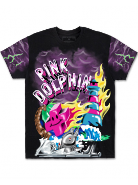 Pink Dolphin Superfuture Tee Black