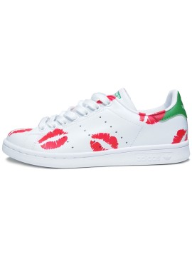 Remix Line Custom x Adidas Stan Smith Kisses
