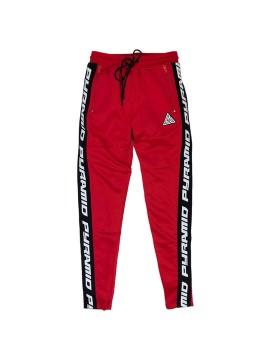Black Pyramid Track Pantalon Rouge