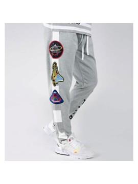 Black Pyramid Space Track Pantalon Gris