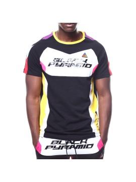 Black Pyramid BP Racing T-Shirt Noir