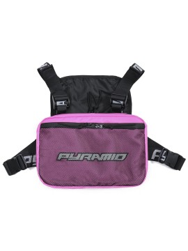 Black Pyramid Chest Rig Pink