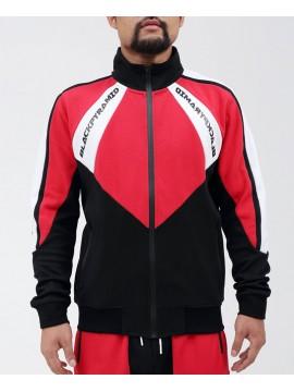 Black Pyramid Moto Quad Track Jacket Red