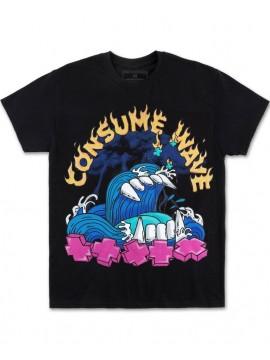 Pink Dolphin Consume T-Shirt Noir