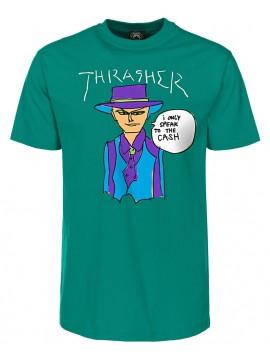 Thrasher Gonz Cash T-Shirt Vert