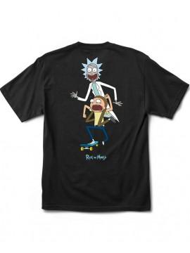 Primitive T-Shirt Classic P R&M Skate Noir