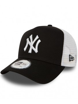 New Era Adjustable New York Yankees Clean A-Frame Casquette Trucker
