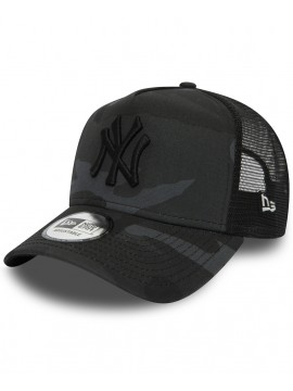New Era Adjustable New York Yankees A-Frame Casquette Trucker Camouflage