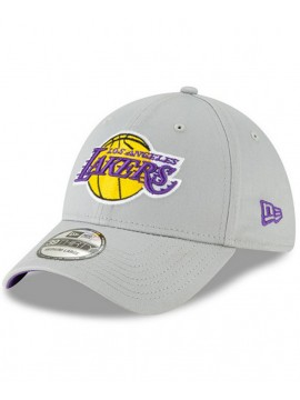 New Era Team 39Thirty Casquette NBA Los Angeles Lakers Gris