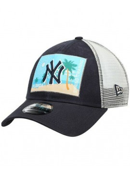 e835c9dc9e5b6 New Era Casquette 9Forty Adjustable New York Yankees Patched Trucker 3