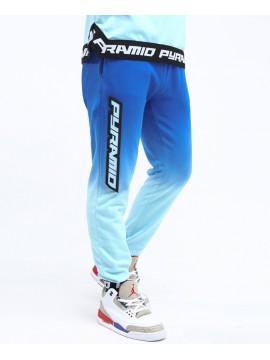 Black Pyramid Dip Dye Pastel Pantalon De Jogging Bleu