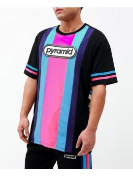 Black Pyramid Team OHB Stripe T-Shirt Noir
