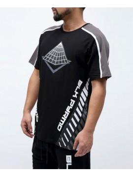 Black Pyramid Hazard OG Logo T-Shirt Noir