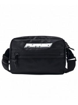 Black Pyramid Medium Tech Shoulder Bag Black