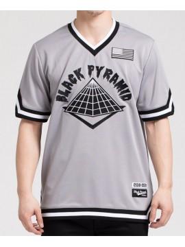 Black Pyramid Baseball SS Jersey Gris