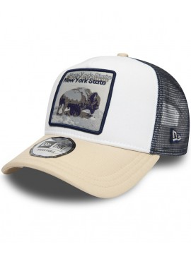 Casquette New Era Trucker 9Forty New York State Bison