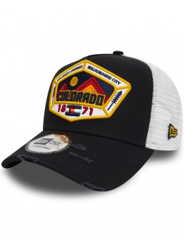 Casquette New Era Trucker 9Forty Distressed Colorado