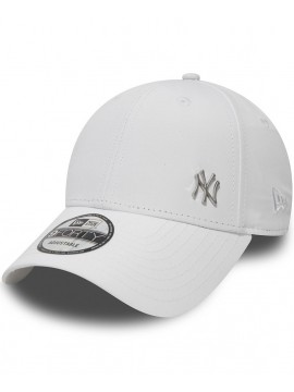 Casquette New Era 9Forty NY Yankees MLB Flawless Logo Blanc