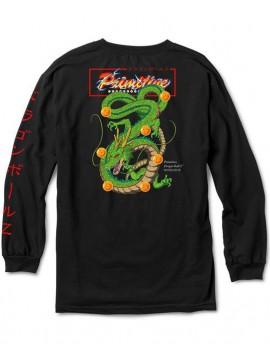 Primitive Shenron Club T-Shirt Manches Longues Noir