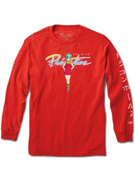 Primitive Nuevo Bulma T-Shirt Manches Longues Rouge