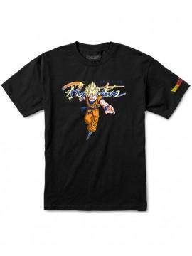 Primitive Nuevo Goku Saiyan T-Shirt Noir