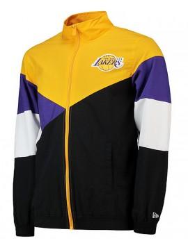 8b81cad4526 New Era Veste NBA Lakers Retro Colour Block Track