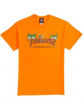 Thrasher Tiki T-Shirt Orange