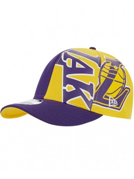 Casquette New Era 9Fifty Los Angeles Lakers NBA Retro Pack Trucker