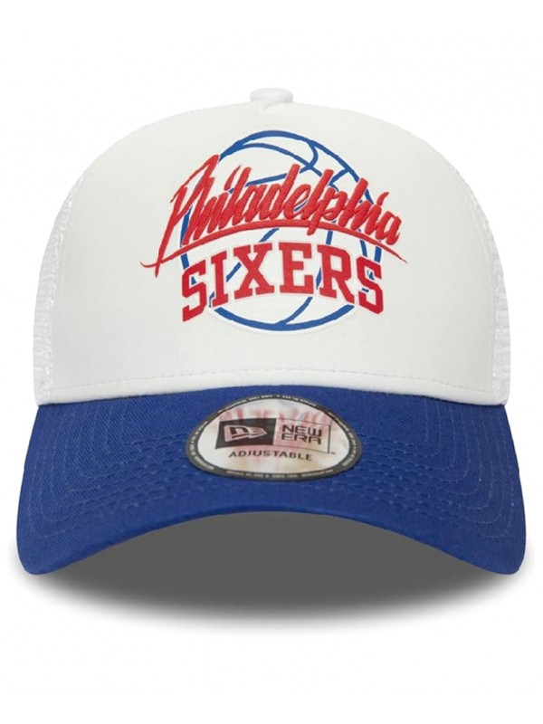 mode la plus désirable de style élégant jolie et colorée New Era NBA Neoprene Philadelphia 76ers Trucker