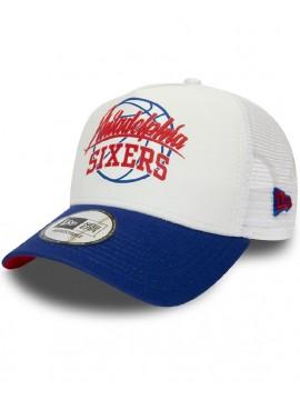 Casquette New Era Trucker Neoprene NBA Philadelphia 76ers