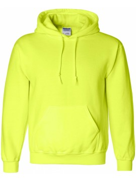 Gildan Heavy Blend Hooded Neon Yellow