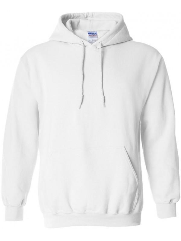 super cute first rate official store Sweat Capuche Blanc - Gildan Heavy Blend