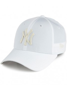 Casquette Femme New Era 9Forty NY Yankees Sport940 Blanc
