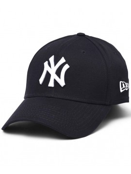 Casquette New Era 39Thirty New York Yankees League Basic Bleu Marine