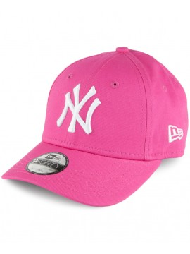 Casquette New Era 9Forty New York Yankees Basic Adjustable Rose