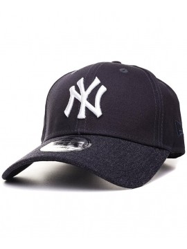 Casquette New Era 9Forty Team Heather Visor New York Yankees