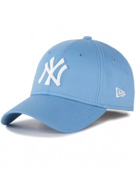 Casquette Femme New Era 9Forty NY Yankees League Essential Bleu
