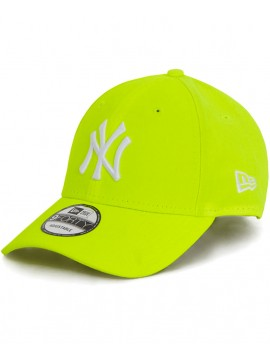 Casquette New Era 9Forty NY Yankees Neon Jaune - NY Fluo