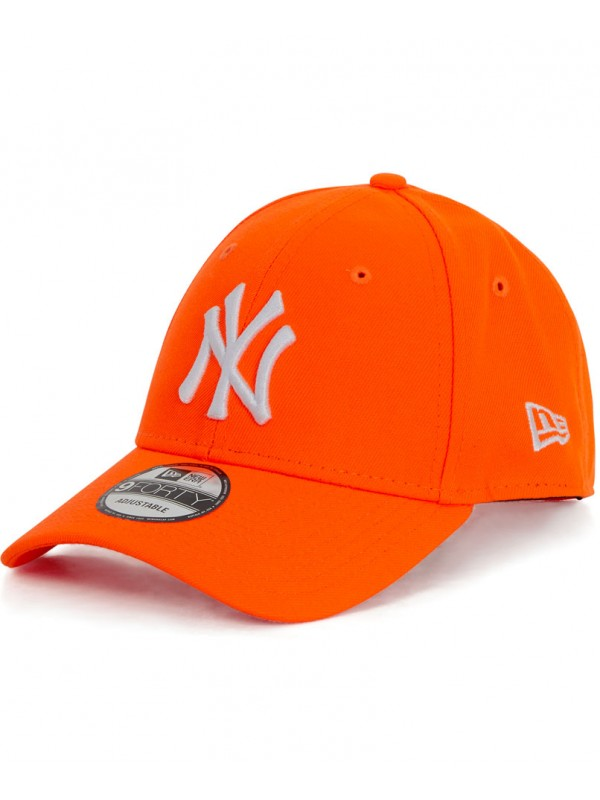 casquette ny femme orange