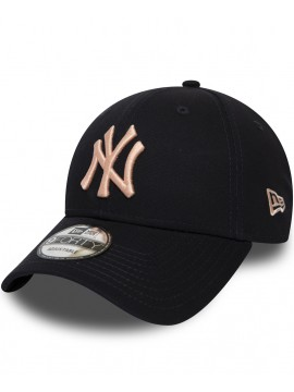b4de2058891d2 Casquette New Era New York Yankees Essential 9Forty Bleu Marine