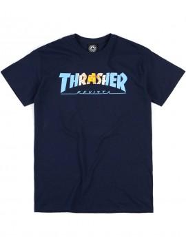 Thrasher Argentina T-Shirt Bleu Marine