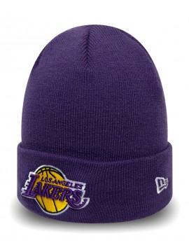 New Era Los Angeles Lakers Team Cuff Knit Purple