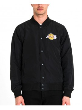 New Era Los Angeles Lakers Bomber Jacket Black